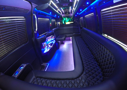 14 PERSON PARTY BUS