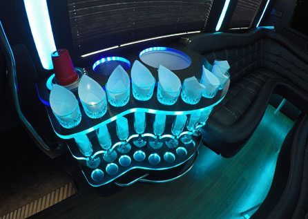 10 PERSON PARTY BUS