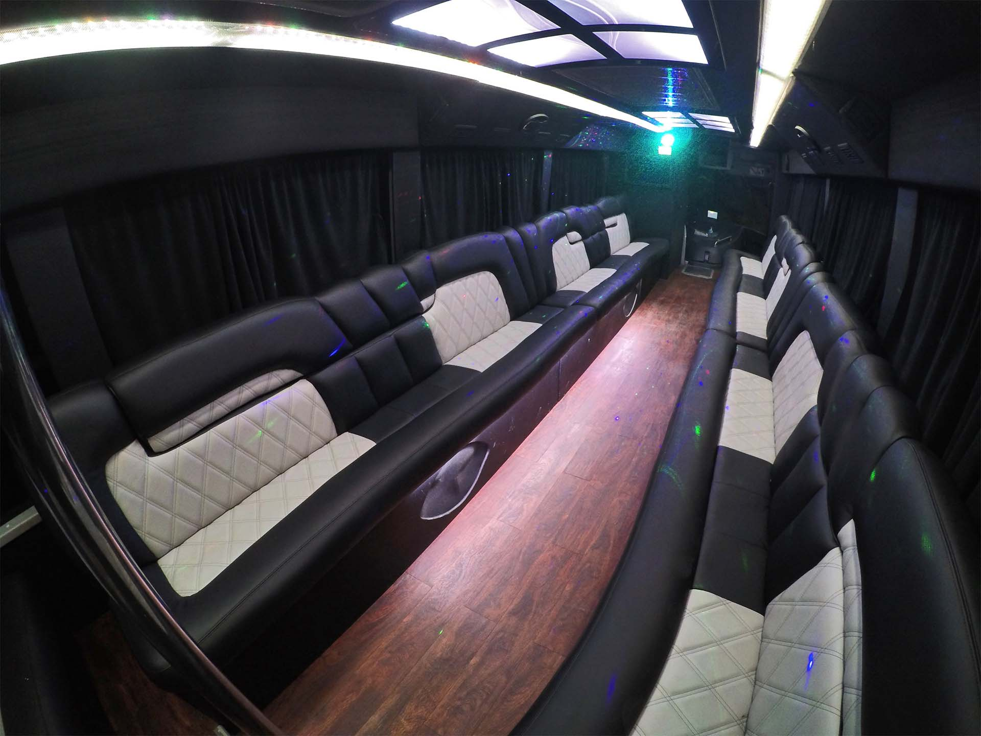 35 Passenger Party Bus Service in Los Angeles CA