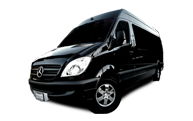 Mercedes Sprinter Shuttle Bus Transportation in Los Angeles