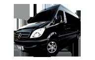 Mercedes Sprinter Shuttle Bus Transportation in Los Angeles